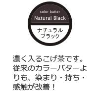 ヌースフィット カラーバタープレミアム ナチュラルブラック